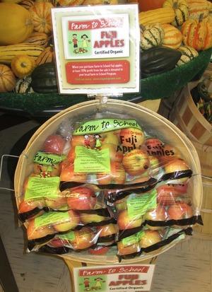 Farm to School Fuji Apples